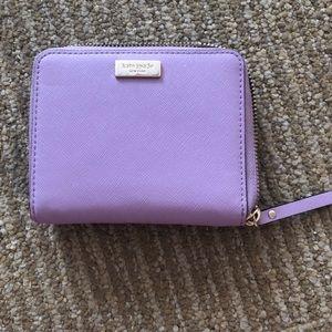 Kate Spade Laurel Way Darci lavender wallet